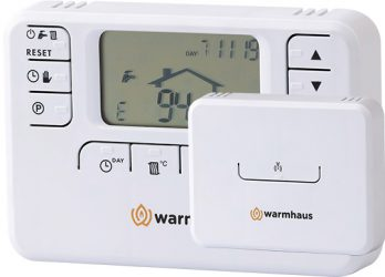 Bezdrôtový termostat pre plynový kotol
