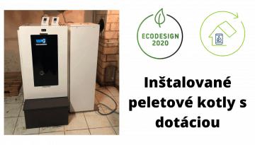 Zelená domácnostiam II 2020 inštalácie