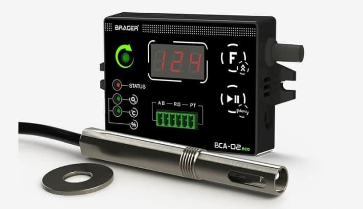 BCA02 eco analyzator spalin